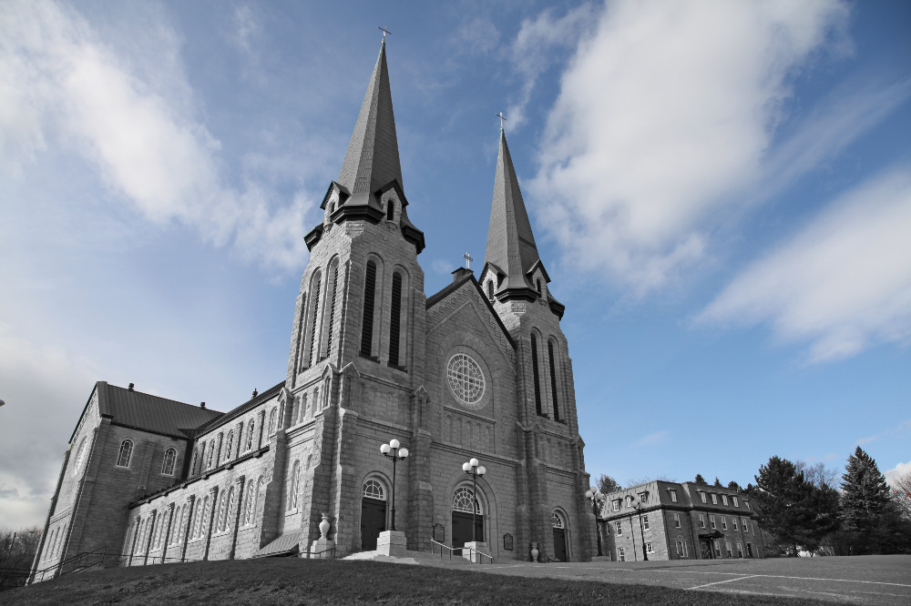 Cathedral of Immaculate Conception in Edmundston, New Brunswick, Canada