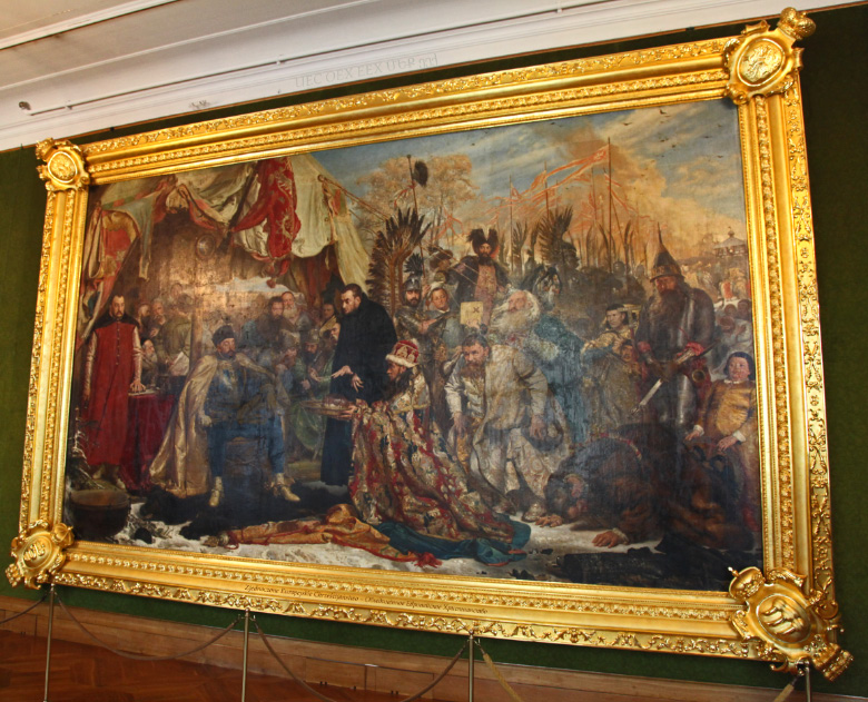 Jan Matejko's Batory at Pskov in the Royal Castle in Warsaw