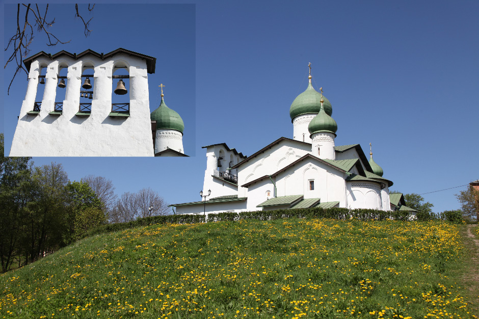 Храм Богоявления Господня в Пскове – Church of the Epiphany in Pskov