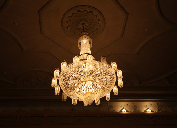 Chandellier in Pskov Drama Theater