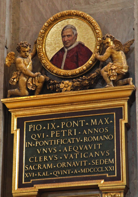 Medalion of Pius IX