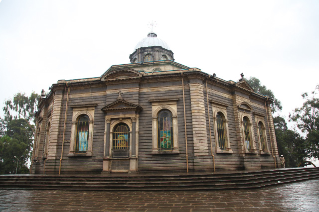 Cathedral of Saint George in Addis Ababa