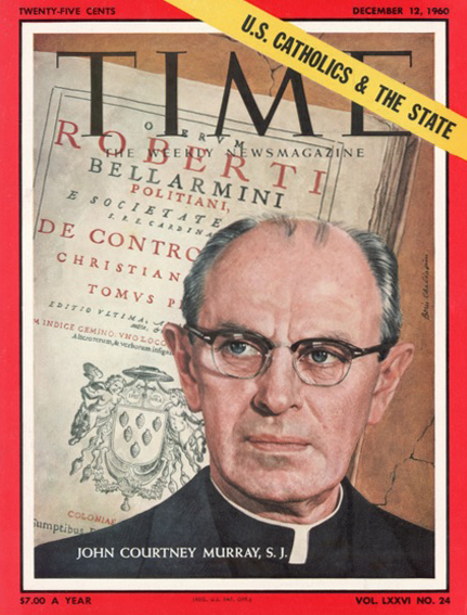 Time Magazine cover with John Courtney Murray, SJ of 12 December 1960